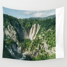 Plitvice Lakes Wall Tapestry