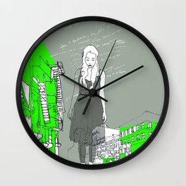 14th & 6th ave Wall Clock