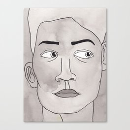 Hmm hmm... Canvas Print