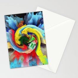Emerald in Colours Stationery Cards