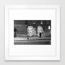 NYC grit Framed Art Print