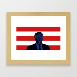 Trump Lives Framed Art Print