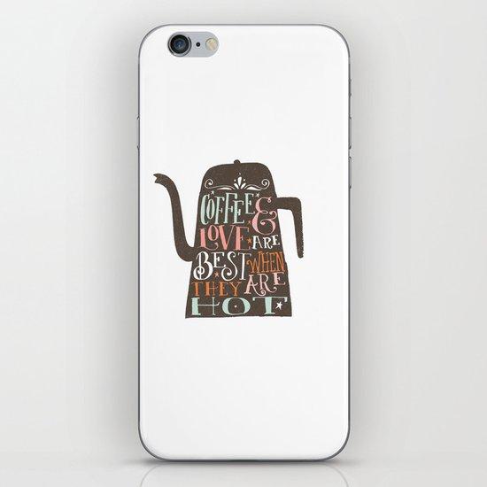 COFFE & LOVE iPhone & iPod Skin