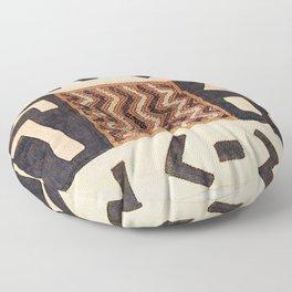 Kuba Congo Central African Wraparound Skirt Print 2 Floor Pillow