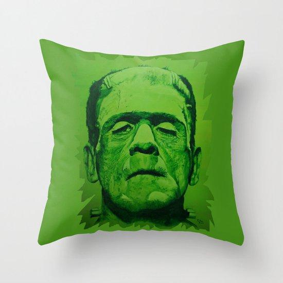 the creature (original) Throw Pillow