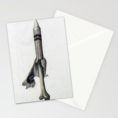 To The Core: White Stationery Cards