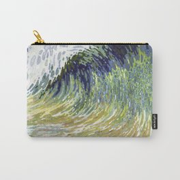 Surf's Up Big Wave Juul Art Carry-All Pouch