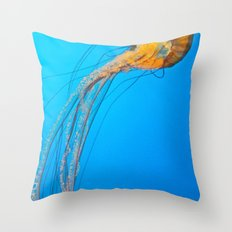 Animality: Jellyfish, Solo. Throw Pillow