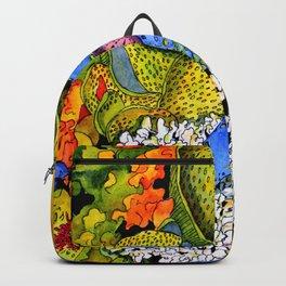 Blue Sea Star Backpack