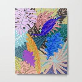 Lush Leaves 2 Metal Print