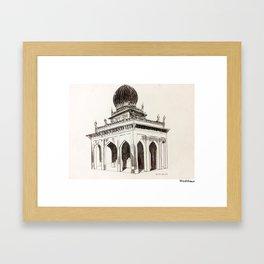 Palace Gate Framed Art Print