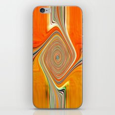 Abstract.Orange+Lemon. iPhone & iPod Skin