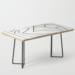 Abstract line art 2 Coffee Table