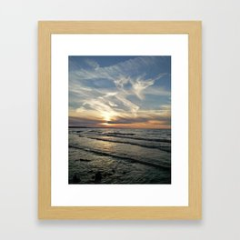 Georgian Bay Sunset Framed Art Print
