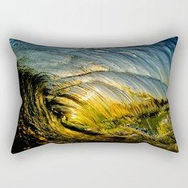 Sunset Barrel ~ Newport Beach Rectangular Pillow