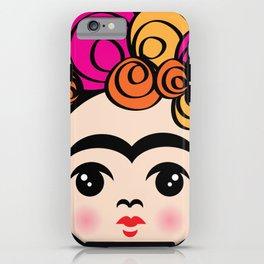 Frida Face iPhone Case