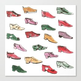 shoes Canvas Print