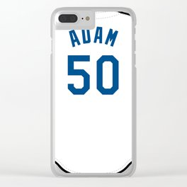 Jason Adam Jersey Clear iPhone Case