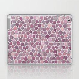 Pink Mosaic Pattern - lighter Laptop & iPad Skin