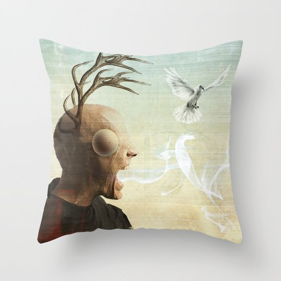 polarity of odds Throw Pillow