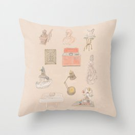 Brooklyn Pieces 1 Throw Pillow
