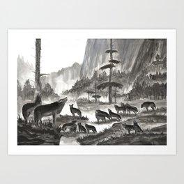 Family Tradition Art Print