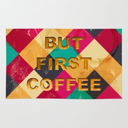 But first Coffee – Notebooks & more Rug
