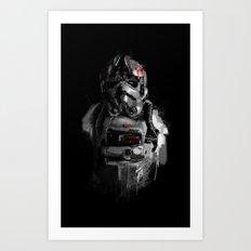Pilot 02 Art Print