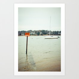 The only {danger} is not living adventurously Art Print