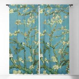 Vincent van Gogh - Almond blossom Blackout Curtain
