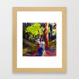 Max Liebermann Forest Walk Framed Art Print