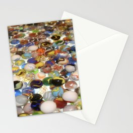 Marbles as far as the eyes can see Stationery Cards