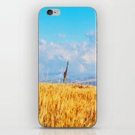 Giraffe in Kenya iPhone Skin
