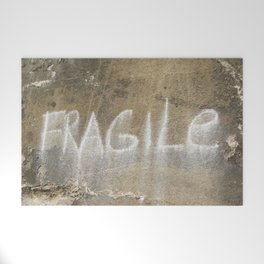 Fragile city Welcome Mat