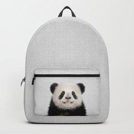 Panda Bear - Colorful Backpack