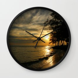 A Perfect Days End Wall Clock