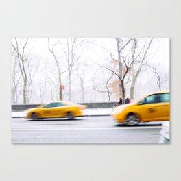 City Winter Canvas Print