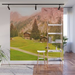 Mountain's Beauty And Nature's Magic Wall Mural