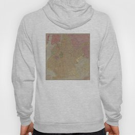 Vintage Map of Brooklyn NY (1911) Hoody