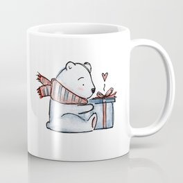 Christmas gift bear Coffee Mug