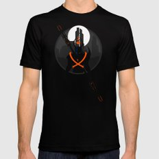 Lucas Middleton SMALL Black Mens Fitted Tee