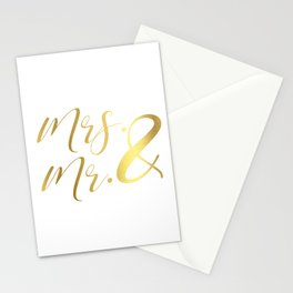 Mr Mrs Love Prints. Wedding Art Prints. Real Gold or Silver Foil Print. His and Hers Wall Art. Stationery Cards