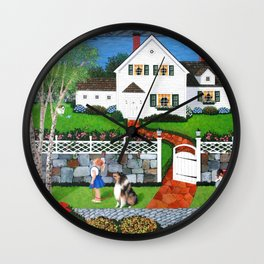 No Place Like Home Wall Clock