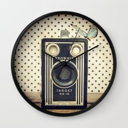 Vintage Camera Love: Kodak Brownie Target Six-16! Wall Clock
