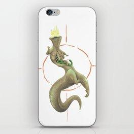 THE SALAMANDER KING iPhone Skin