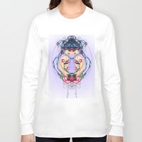 psycho Long Sleeve T-shirts featuring Psycho by chiara costagliola