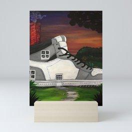 Shoe Value Mini Art Print