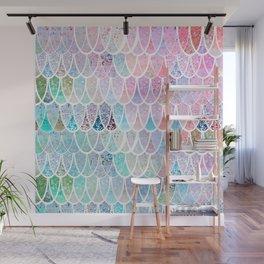 DAZZLING MERMAID SCALES Wall Mural