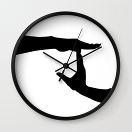Letter J - GoldShade Wall Clock