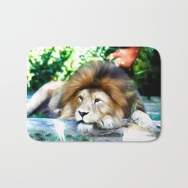 Lion Art One Bath Mat